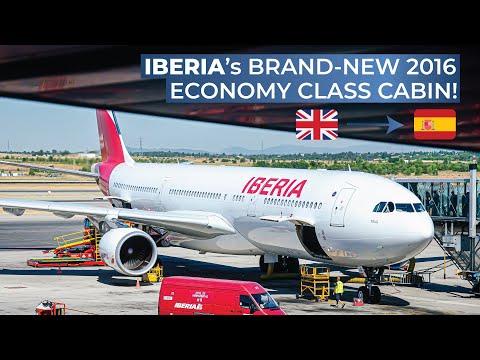 TRIPREPORT | Iberia (NEW 2016 ECONOMY CLASS!) | Airbus A330-200 | London Heathrow - Madrid