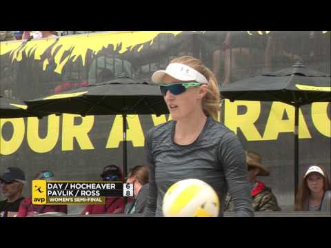 AVP Huntington Beach Open 2017 Women's Semi-Final: Day/Hochevar vs Ross/Pavlik