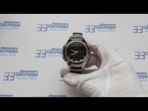 Casio AQ-160WD-1BVEF часы мужские кварцевые видео обзор