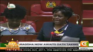 Parliament approve Prof. Magoha appointment to Education docket