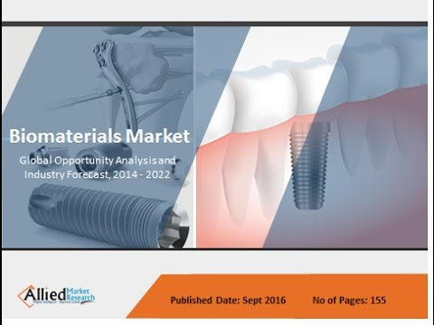 Biomaterials Market Size, Industry Analysis & Forecast 2022