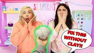 FIX THIS SLIME WITHOUT MAGICAL CLAY CHALLENGE! Slimeatory #633