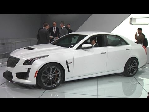 FOX Car Report - Cadillac CTS-V: 200 mph...and Beyond? - YouTube