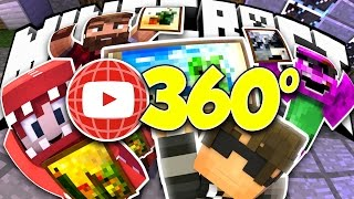 360 Minecraft VR! | Minecraft Build Battle
