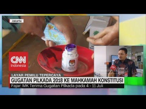 Persiapan MK Terkait Gugatan Pilkada Serentak 2018