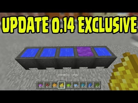 how to use a cauldron in minecraft pe