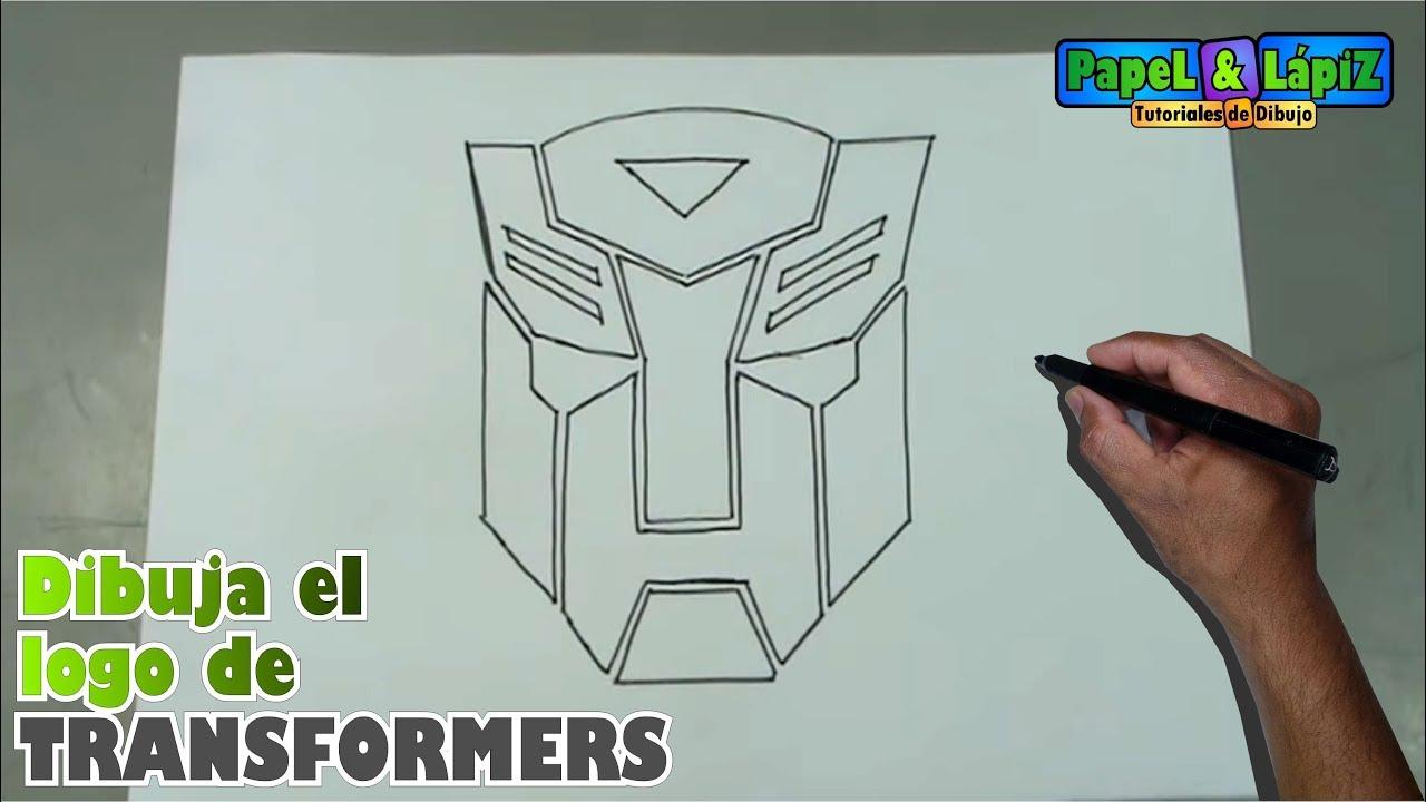 Dibuja Paso A Paso El Símbolo De Los Transformer