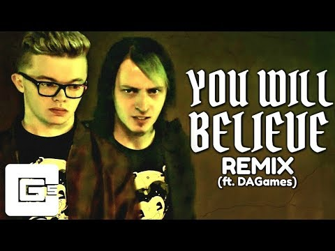 """BENDY AND THE INK MACHINE SONG (ft. DAGames) ▶ """"You Will Believe"""" [Remix/Cover] 