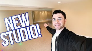 NEW STUDIO TOUR! WE BOUGHT A HOUSE!