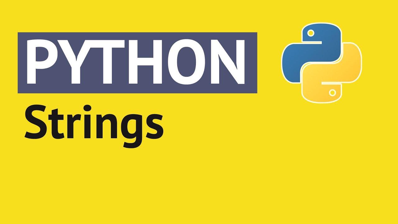 "Resultado de imagen de string python"""
