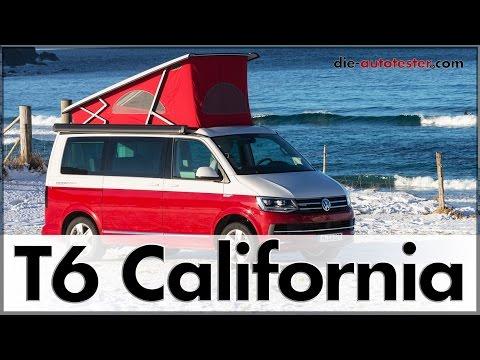 2017 Volkswagen VW T6 California auf den Lofoten | Test | Reise | Auto | Deutsch