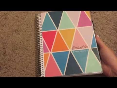 5 year journal - Erin Condren - Elizabeth Medero