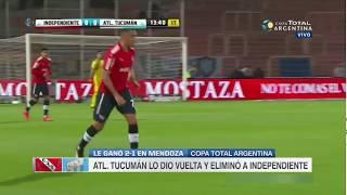 Independiente vs Atlético Tucumán  (2-1) RESUMEN Y GOLES COPA ARGENTINA