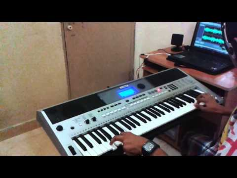Main Ek Raja Hoon-(Uphaar)-On Keyboard