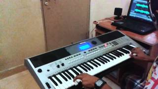 Main Ek Raja Hoon-(Uphaar)-On Keyboard