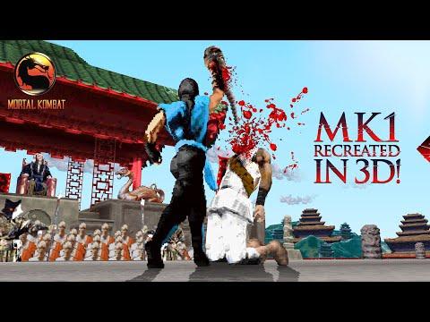 Mortal Kombat 1 (1992) Reimagined As A 3D Game!