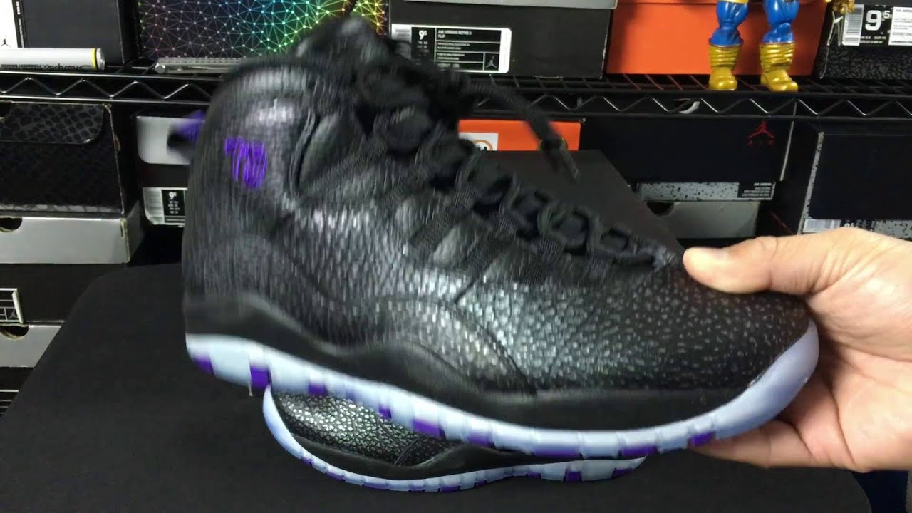 28d7c0c224f3 Air Jordan 10 X Retro  Paris  Unboxing Review  Non US Release ...