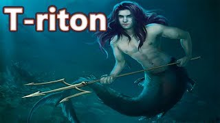 Triton: the Son of Poseidon - Mythology Dictionary #16 See U in History