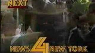 WNBC 4 New York - News 4 New York 11PM News Tease and Open (1983) Video
