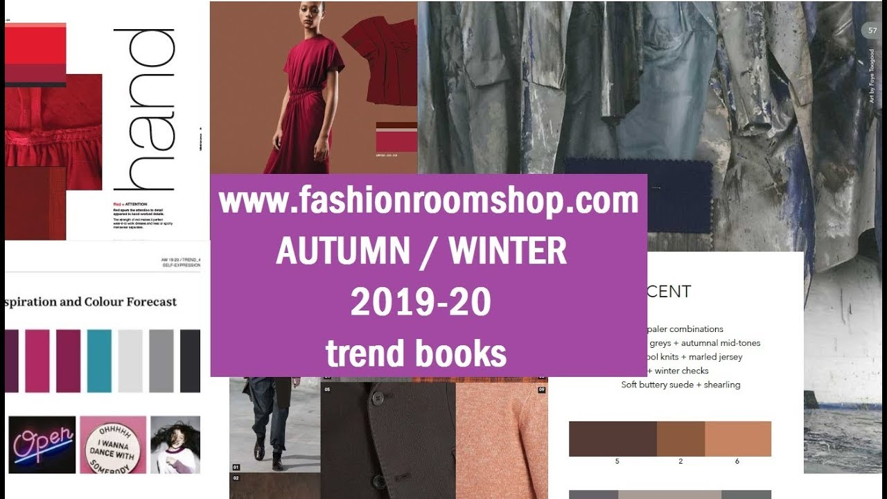 Autumn Winter 2019 20 Trend Books Youtube