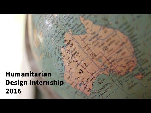 Humanitarian Design Internship 2016