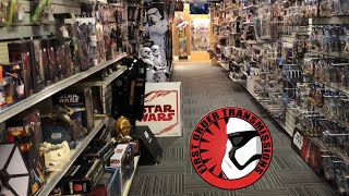 Massive Star Wars Section At ACME Superstore (Vintage, Clone Wars, Hasbro, Funko, and more!)