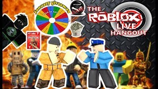 🔴JANUAR GIVEAWAY / RANDOM GAMES NIGHT / PLAYING WITH SUBSCRIBERS (ROBLOX)
