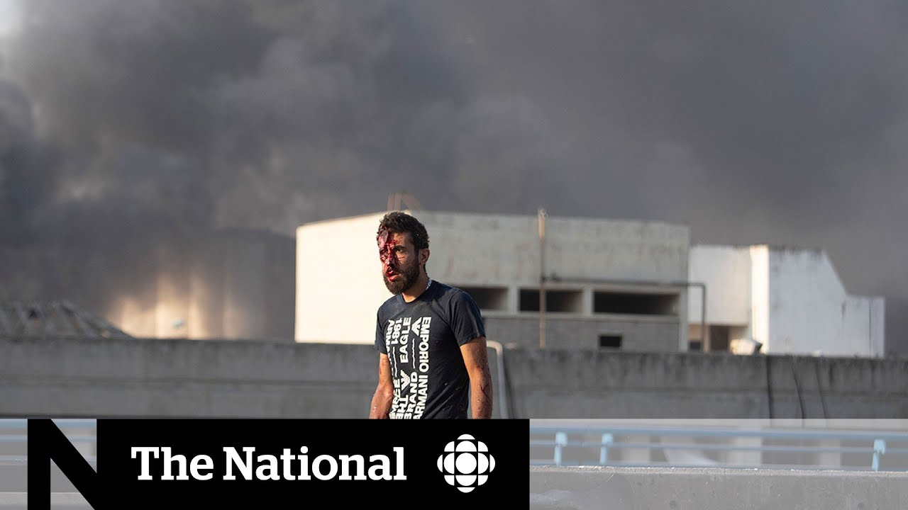 Blasts Rock Beirut, Killing Dozens and Wounding Thousands