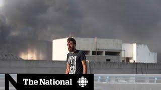 Powerful explosion rocks Beirut's port area, killing dozens, injuring thousands