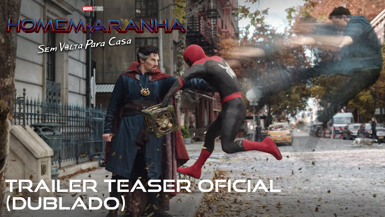 Homem-Aranha: Sem Volta Para Casa | Trailer teaser oficial dublado | 16 de dezembro nos cinemas