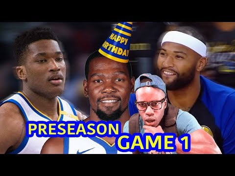 WHOLE TEAM LOOKIN SCARY IN WARRIORS PRESEASON DEBUT! GOLDEN STATE HIGHLIGHT REACTION VS WOLVES.