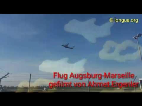 Airport Augsburg Mülhausen flight to Marseille by Ahmet Ergenler
