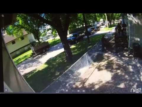 Jonathen Kakewash gets arrested Winnipeg June 2016