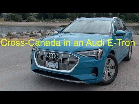 Audi E-Tron Cross-Canada Adventure
