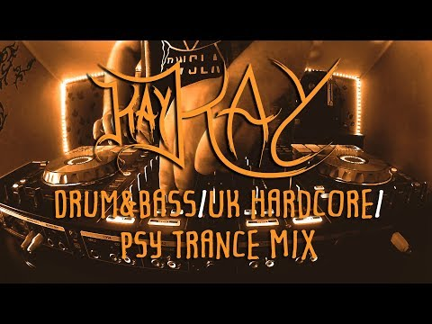 Kay Kay - Drum & Bass / UK Hardcore / Psytrance Mix | #13