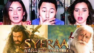 SYE RAA | Chiranjeevi | Amitabh Bachchan | Vijay Sethupathi | Jagapathi Babu | Trailer Reaction!