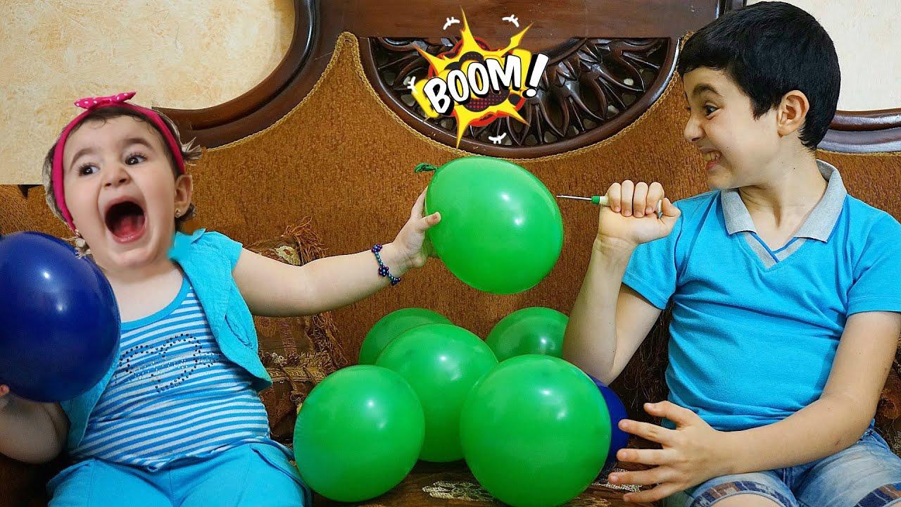Celina and Hasouna's Balloons - سيلينا بالونات حسونة