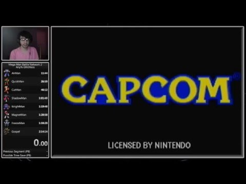 Mega Man Battle Network 2 Any% Glitchless Speedrun (2:12:17) [Current World Record]
