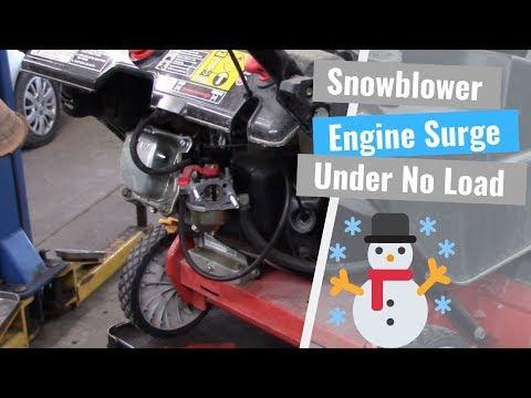 Snowblower Engine Surging