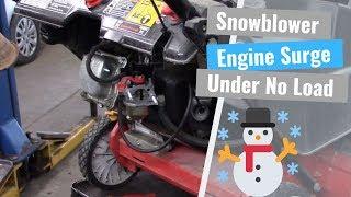 snowblower-engine-surging