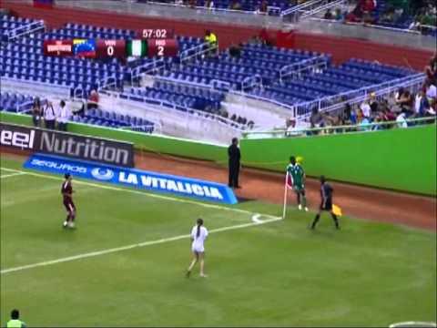 Nigeria vs Venezuela - Miami November 2012 EURODATA SPORT