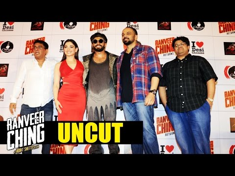 Ranveer Ching Returns Launch | A Rohit Shetty Film | Ranveer Singh, Tamannaah : FULL EVENT