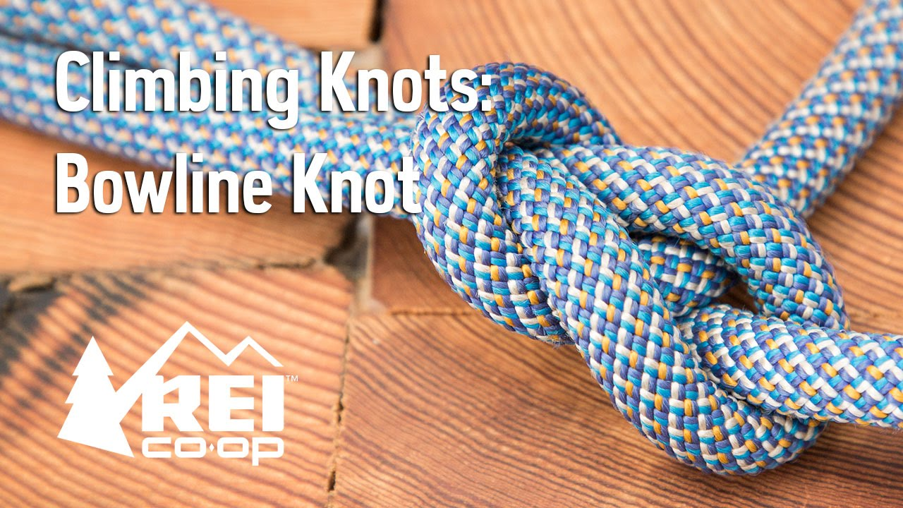 45fb2033458d98 Rock Climbing  How to Tie a Bowline Knot - YouTube