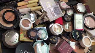 LIVE CHAT: DECLUTTERING My Highlighter and Bronzer Collection!   Jen Luvs Reviews