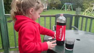 Repeat youtube video Mentos and coke experiment