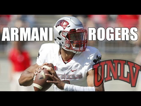 Armani Rogers  Freshman Of The Year  UNLV Highlights