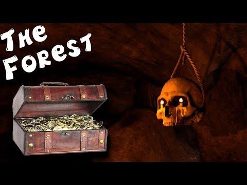 Нашли шикарный Клад в Пещере The Forest The Forest C Pepper Play #2