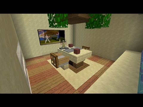 How to make a dining room in minecraft minecraft dining for Minecraft dining room designs