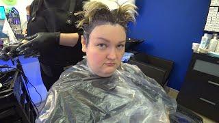 Я в АФИГЕ Сменила цвет волос мой новый СТИЛЬ поразил даже МАРИНУ Стрижка ПИКСИ мне к лицу Влог