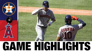 Alex Bregman lift Astros in 11-inning win | Astros-Angels Game Highlights 8/2/20